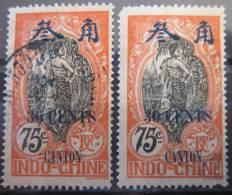 A6455 - Indo-Chine (Canton) -1919 - Sc. 77