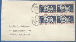 USA, 4c, 1959, FDC, Commemorating Opening Of The St. Lawrence Seaway Navigation - First Day Covers (FDCs)