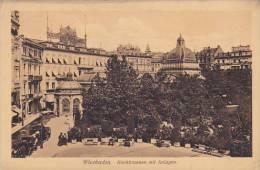 Germany Wiesbaden Kochbrunnen mit Anlagen