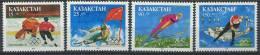 102 KAZAKHSTAN 1993 - JO Hiver Lillehammer (Norvege) Neuf Sans Charniere (Yvert 26/29) - Kazakhstan