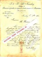 Brief 1900 - NUREMBERG - J. & K. SILL - Fabrique De Bronzes Ne Poudre, Or, Argent En Toutes Nuances Et Aluminium - Imprimerie & Papeterie