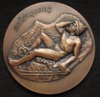 M01079 1969 C.L.B., Septuagesimo Landi, Polutromos, Un Grec Couché (152 G.) - Jetons & Médailles