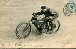 N°29154 -cpa Thème Moto -Marius Thé- - Motos