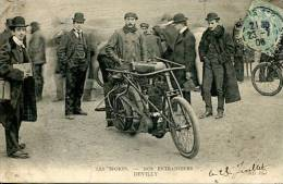 N°29160 -cpa Thème Moto -Devilly -nos Entraineurs-- - Motos