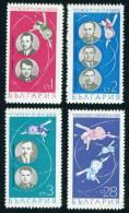 """+ 2034 Bulgaria 1969 Russian Space Flights Of Soyuz 6,7,8 ** MNH / Gruppenflug Von """"Sojus 6, 7 Und 8"""". - Unclassified"""