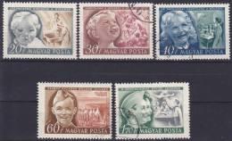 HONGARIJE - Michel - 1950 - Nr 1101/04 - Gest/Obl/Us - Hongrie