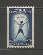 FRANCE 1959 Mint Hinged Stamp(s) Infantile Paralysis 20fr Nr. 1266 - France
