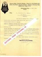Brief 1910 - OBERLENNINGEN-TECK - CARL SCHEUFELEN - Erste Deutsche Kunsdruck Papierfabrik - Imprimerie & Papeterie