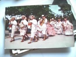 America Panama With Folklore Entertainers - Panama