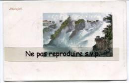 - Rheinfall - Très Jolie, Précurseur, écrite, Vierge Au Recto, Peu Courante, Bon état, 3 Cachets, 1905, Scans. - SH Schaffhouse