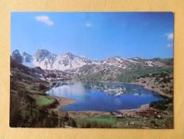 Dep 04 , Cpm  Lac D'ALLOS , A/1571  , Alt.2225m.,le Col De L'Encombrette Et Les Gandes Tours,  Edit.Société Alpine (246) - Non Classés