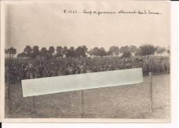 Somme Camp De Prisonniers   WWI Ww1 14-18 1.wk 1914-1918 Poilus - Guerre, Militaire