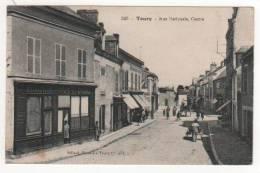 TOURY  -  Rue Nationale Centre - Francia