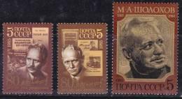 Russie 1985 N°Y.T. : 5214 à 5216 ** - 1923-1991 USSR
