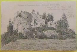 CHATEAU VILAIN Ruines Près Champagnole Jura 39 - Kastelen