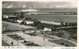 VILA REAL DE SANTO ANTONIO - Alfadega (ao Fundo AIAMONTE) - ALGARVE - 2  Scans PORTUGAL - Faro