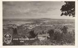 Guam View From Com-Mar Hill, US Military, C1950s Vintage Postcard - Guam