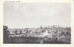 Guam Agat Village Scene, C1940s/50s Vintage Postcard - Guam