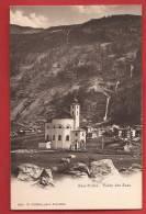 YSA-09 Saas-Pallen Vallée Des Saas. Kirche, Eglise. Pioneer. Nicht Gelaufen. Chiffelle 526c - VS Valais