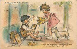 GERMAINE BOURET LE REMPAILLEUR DE CHAISES - Bouret, Germaine