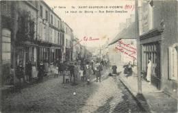 50 SAINT SAUVEUR LE VICOMTE  LE HAUT DU BOURG RUE BOTTIN DESYLLES - Saint Sauveur Le Vicomte