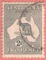 AUS SC #45  1915 Kangaroo And Map, CV $10.50 - Used Stamps