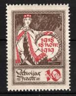 LATVIJA LETTONIA - 1919 YT 44 * - Lettonie