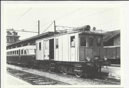 COMMEMORATIVA BELLA CARTOLINA  PER EVITARE FRAINTENDIMENTI VEDI IL RETRO FERROVIA PIAZZA BREMBANA BERGAMO  TRENO - Stazioni Con Treni