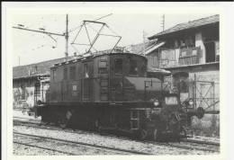 COMMEMORATIVA BELLA CARTOLINA  PER EVITARE FRAINTENDIMENTI VEDI IL RETRO FERROVIA  BERGAMO PIAZZA BREMBANA TRENO - Stazioni Con Treni