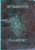 PASSPORT ROMANIA-2002-3 Scansione - Vecchi Documenti