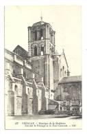 Cp, 89, Vézelay, Basilique De La Madeleine, Vue Sur Le Transept Et La Tour Centrale - Vezelay