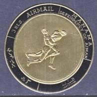 Manama 224   **  SPORTS  WRESTLING   GOLD FOIL - Manama
