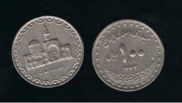 IRAN -  100  Rials   1375    KM1261 - Shrine Of Imam Reza - Irán