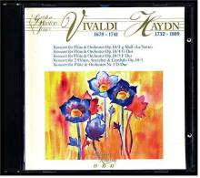 CD -  Vivaldi / Haydn  -  Konzerte Für Flöte  -  Golden Master Serie Nr. 500.104 - Klassik