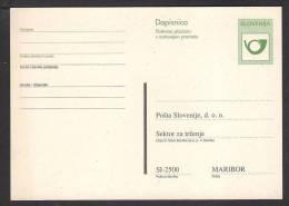 SLOVENIA 2003 Stationery Postcard, Unused - Eslovenia