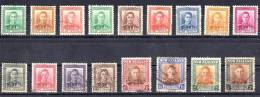 New Zealand 1938 King George VI Set Of 17 Used - 1907-1947 Dominion