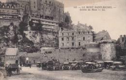 LE MONT SAINT MICHEL. Entrée Du Mont - Le Mont Saint Michel