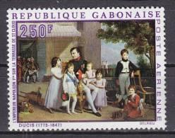GABON  - N° Y&T - Av 87  - 250fr Polychrome - Napoleon 1er  - Oblit Cad - Gabon