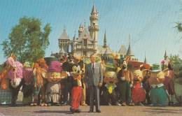 DISNEYLAND Walt Disney Mickey Mouse . Vintage Old Photo Postcard - Disneyland