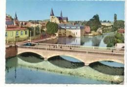 16133 Bar-sur-Aube Vue Générale Et Le Pont Sur L´Aube Editions CAP 1595 Colorisée - Bar-sur-Aube