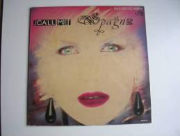 """MAXI - SPAGNA  - CBS 650279  """" CALL ME """" + 1 - 45 T - Maxi-Single"""