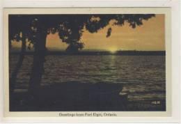 Greetings From PORT ELGIN, Ontario, MS 10 - Ontario