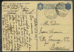 1942 Italia, Franchigia Militare Da Postumia Per Villa Carcina (BS) - Portofreiheit