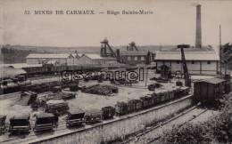 D - 81 - Tarn. - MINES DE CARMAUX - Siège Sainte-Marie. - E. C. CARMAUX. - (voir Scan). - Carmaux