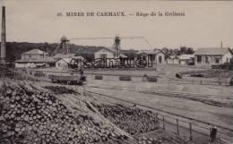 D - 81 - Tarn. - MINES DE CARMAUX - Siège De La Grillatié. - E. C. CARMAUX. - (voir Scan). - Carmaux