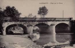 D - 81 - Tarn. - CARMAUX - Pont Sur Le Cérou. - E. C. CARMAUX. - . - (voir Scan). - Carmaux