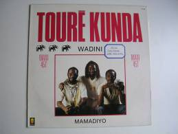 """MAXI -   - TOURE KUNDA - TREMA 510388  """" WADINI """" + 1 - 45 T - Maxi-Single"""