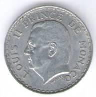 MONACO 5 FRANCS 1945 - 1922-1949 Luigi II