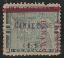 PANAMA (CANAL ZONE) 1904 - Yvert #3 - Mint No Gum (*) - Panamá