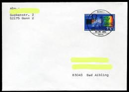 26816) BRD - 2 FDC/Karte - Mi 1732 / 1733 - 80-100Pf            CEPT 94 - BRD